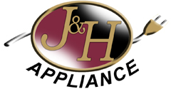 J&H Appliance Kitchen Appliance Repair Logo Image